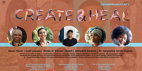 Create & Heal: Art and the Practice of Self Care tickets