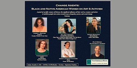 Change Agents: Black and Native American Women on Art and Activism tickets