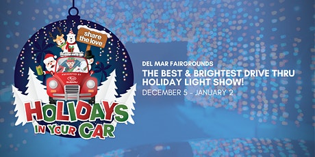 SHARE THE LOVE HOLIDAYS IN YOUR CAR DEL MAR PRESENTED BY SUBARU tickets