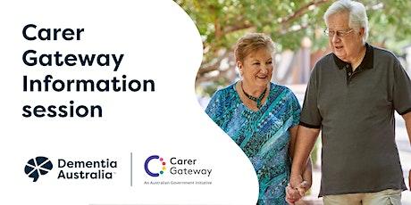 Carer Gateway Information session - Brisbane - QLD tickets