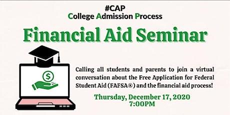 College Preparedness Seminar- Navigating Financial Aid and FAFSA tickets
