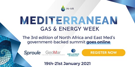 Mediterranean Gas & Energy Week 2021 tickets