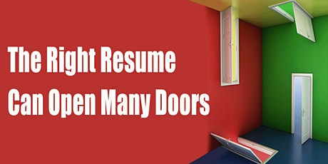 Write  Your  CAREER-FOCUSED RESUME tickets