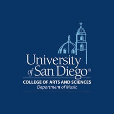 University of San Diego Department of Music logo