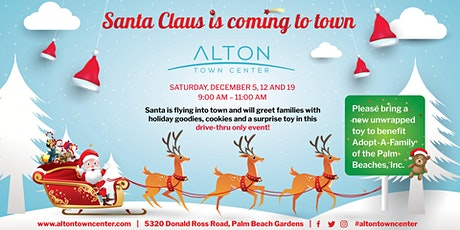 Alton Town Center Makes The Holidays Brighter With Drive-Thru Toy Drive tickets