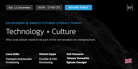 Round Table | Technology + Culture tickets