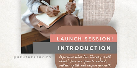 Pen Therapy Intro Journaling Session tickets