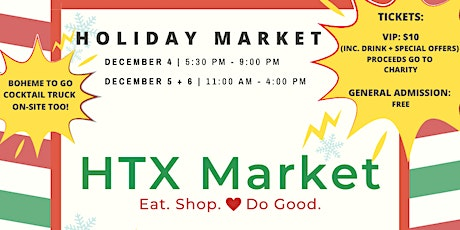 Holiday Market tickets