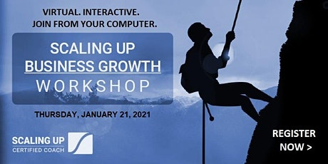 Scaling Up Business Growth Workshop - Flexible Pricing Options tickets