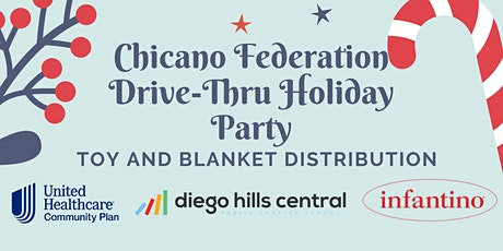 Chicano Federation Drive-Thru Holiday Party tickets