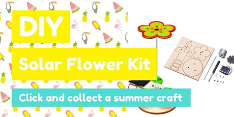 DIY Solar  Flower Kit tickets