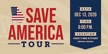 Save America Bus Tour - Newnan, GA tickets