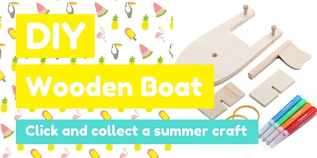DIY Wooden Boat tickets