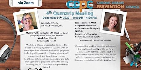 CDPC 4th Quarterly Meeting tickets