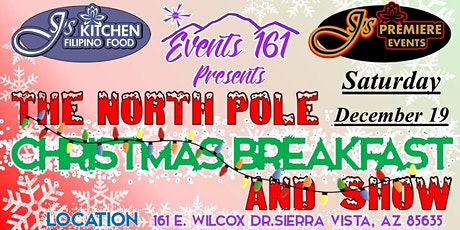 The North Pole Christmas Breakfast and Show tickets