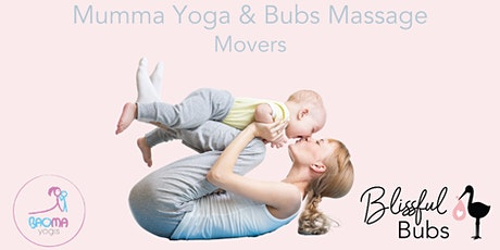 MYBM - Mumma Yoga & Bubs Massage - Moving Baby tickets