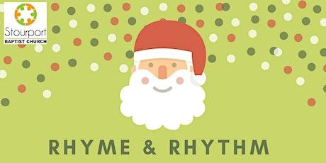 Rhyme & Rhythm Christmas Special session 3 tickets