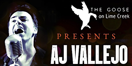 AJ Vallejo Anthology LIVE at The Goose tickets