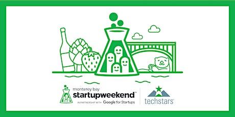 Techstars Startup Weekend Online Monterey Bay  2/5-7/2021 tickets