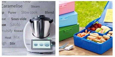 Thermomix Lunch Box Cooking Class-   Charity Fundraiser tickets