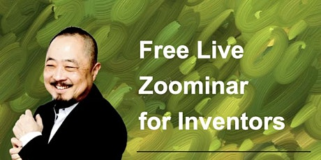 Inventors FREE Live Zoominar tickets