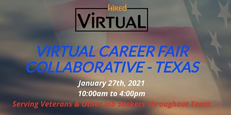 Veterans Virtual Career Fair Collaborative - TEXAS tickets
