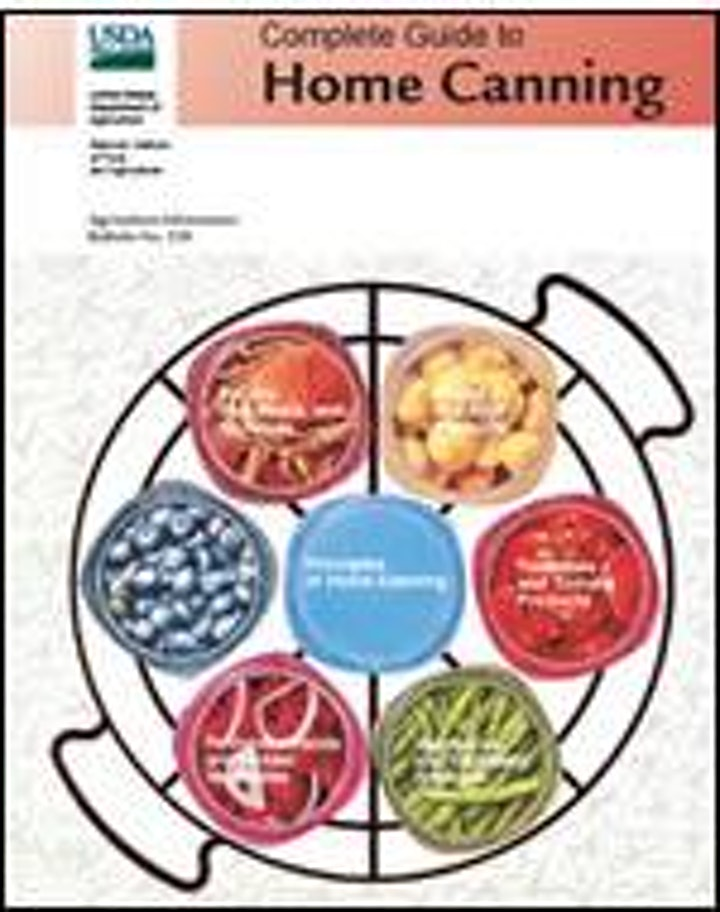 Book Purchase: Complete Guide to Home Canning image