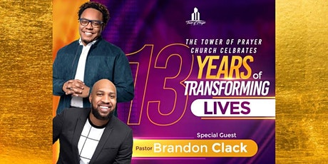 The Tower of Prayer Church 13th  Anniversary tickets