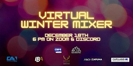 Capilano Business & Professional Society Virtual Winter Mixer tickets