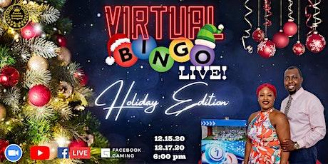 CGL's Virtual BINGO Live!: Holiday Edition tickets