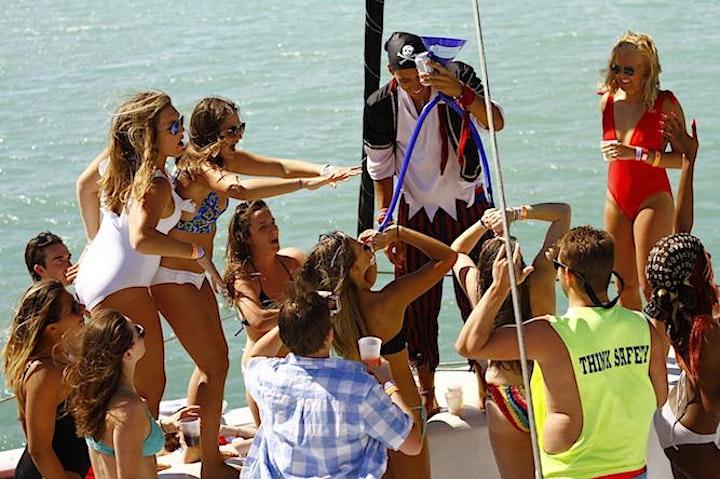 SPRING BREAK - MIAMI BEACH - BOAT PARTY image
