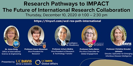 Research Pathways to Impact: International Research tickets