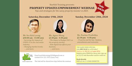 Property Updates Empowerment Webinar tickets
