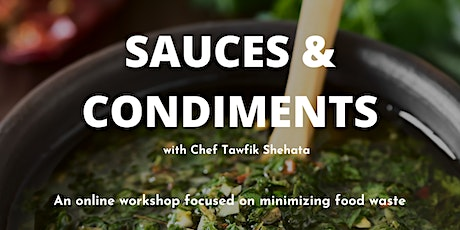 Food Preservation: Sauces & Condiments tickets