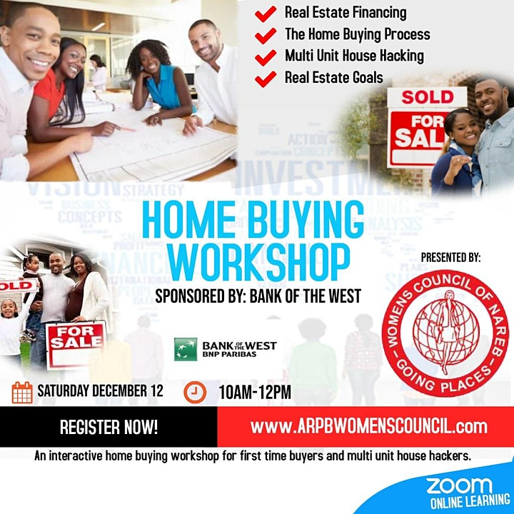December Virtual Homebuyer Workshop image