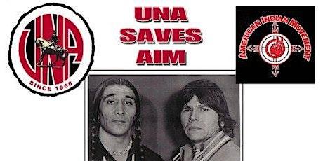 45th Anniversary of UNA saved AIM tickets