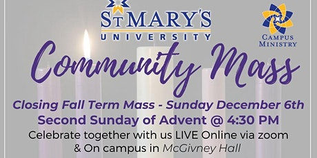 St. Mary's University Sunday Community Mass tickets