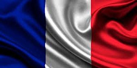 VIRTUAL ADVANCED BEGINNERS FRENCH CONVERSATION CLASS tickets