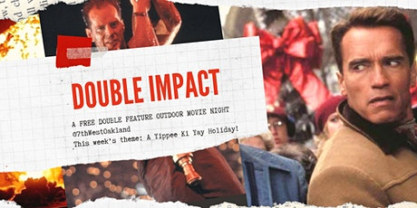 Double Impact: Double Feature Outdoor Movie Night tickets