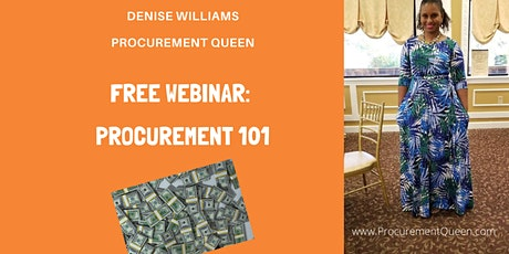 Introduction to Procurement with the Procurement Queen tickets