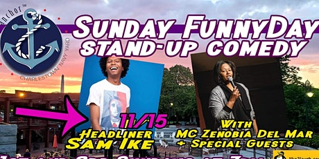 Sunday Funny Day: Stand-Up Comedy at The Anchor, Charlestown tickets