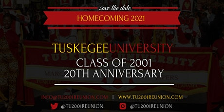 Tuskegee University - Class of 2001 Reunion tickets
