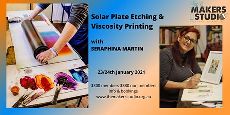 Solar Plate Etching & Viscosity Printing with Seraphina Martin tickets