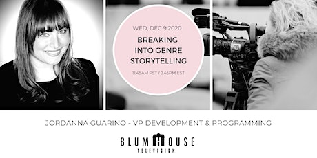 Blumhouse: Breaking into Genre Storytelling tickets