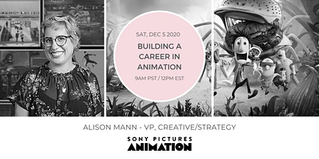 BUILDING A CAREER IN ANIMATION tickets