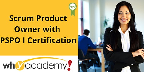 Scrum Product Owner with PSPO I Certification - SG  tickets