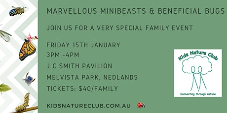 Marvellous Minibeasts & Beneficial Bugs! tickets