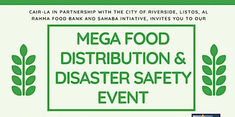 Mega Food Distribution tickets