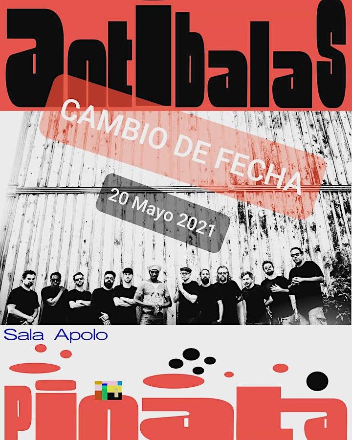 Imagen de NUEVA FECHA! Antibalas en Barcelona (20 aniversario)