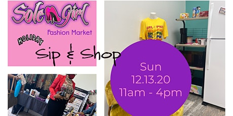 Sole Girl Holiday Sip & Shop tickets